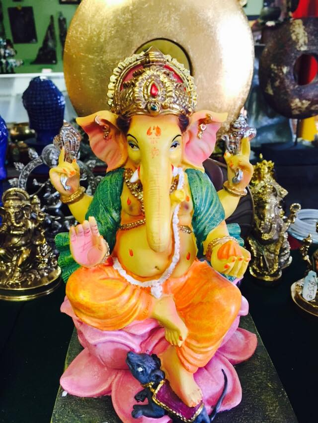 Ganesh opens a big door for luck welcome 954-916-7649
